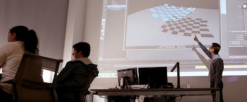 Steve Conroy Teaching Computer Animation I - ACCAD 5002