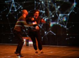 image from the OSU Theatre production of the Curious Incident of the Boy in the Night-Time