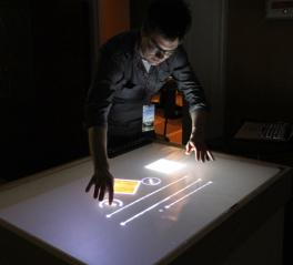 The multi-user touch table