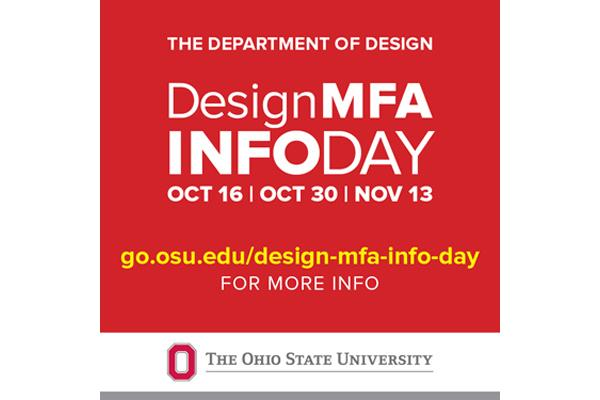 Design MFA Info Day