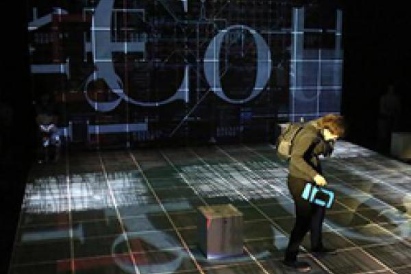 stage image from Curious Incident of the Boy in the Night-Time